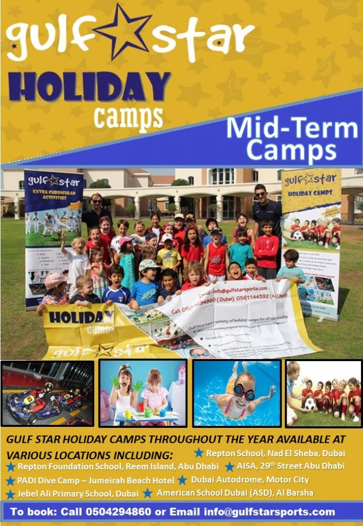 Camp Poster - Mid Term Break