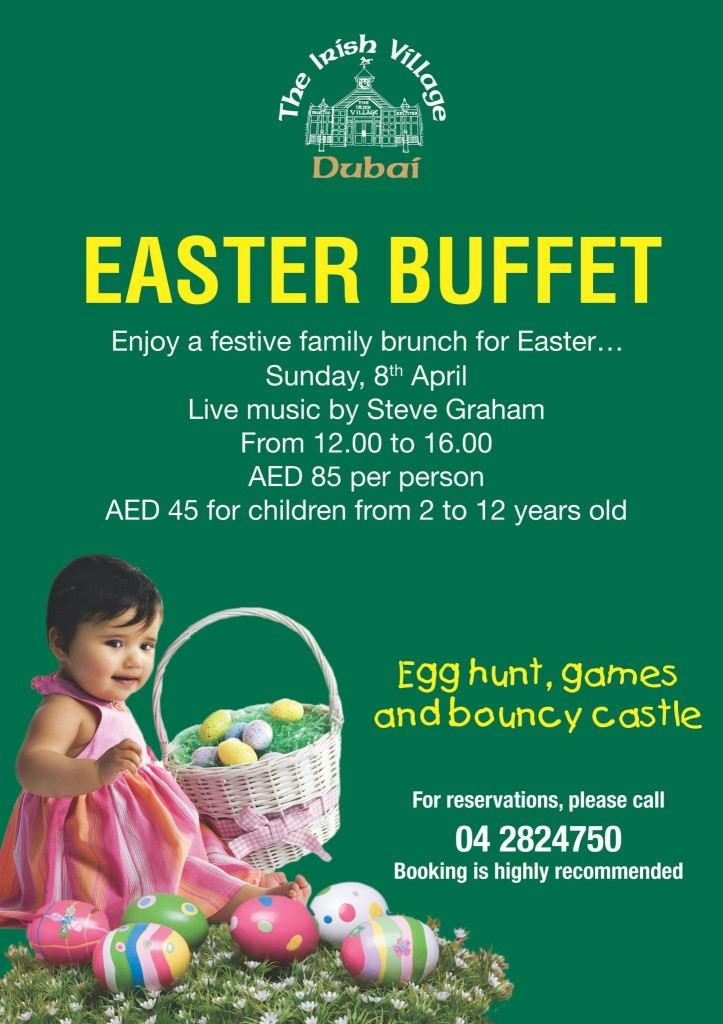Irish Village Dubai Easter Buffet