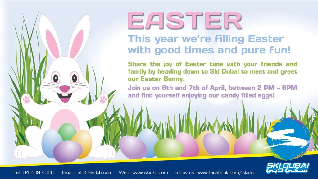 Easter with Ski Dubai