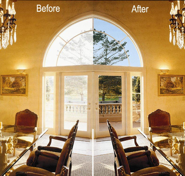 Ensure Year Round Comfort And Energy Efficiency With Window Film Delectable Interior Window Tinting Home Property