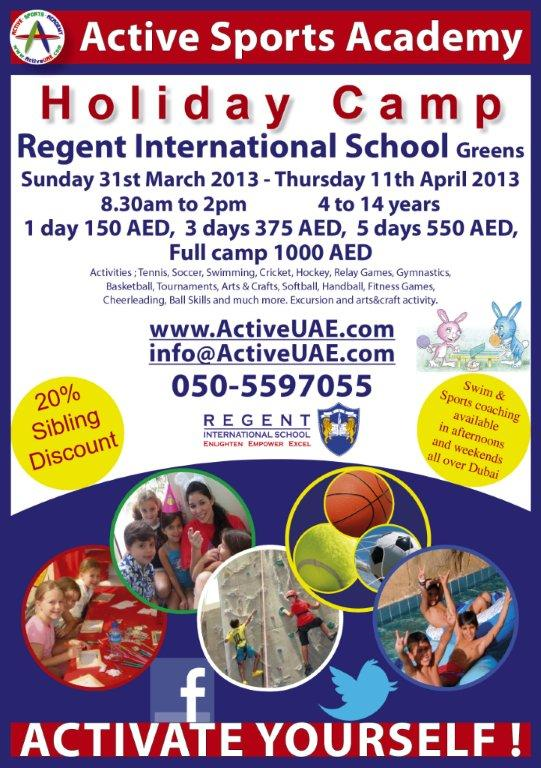 Active Sports RIS Spring Camp 2013