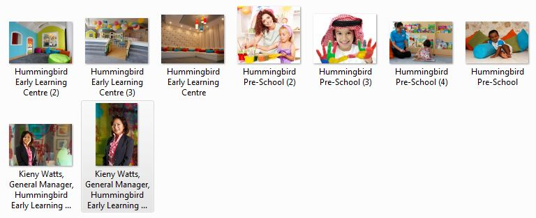 Hummingbird Pre-School Images Preview