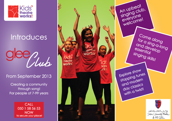 Glee Club flyer