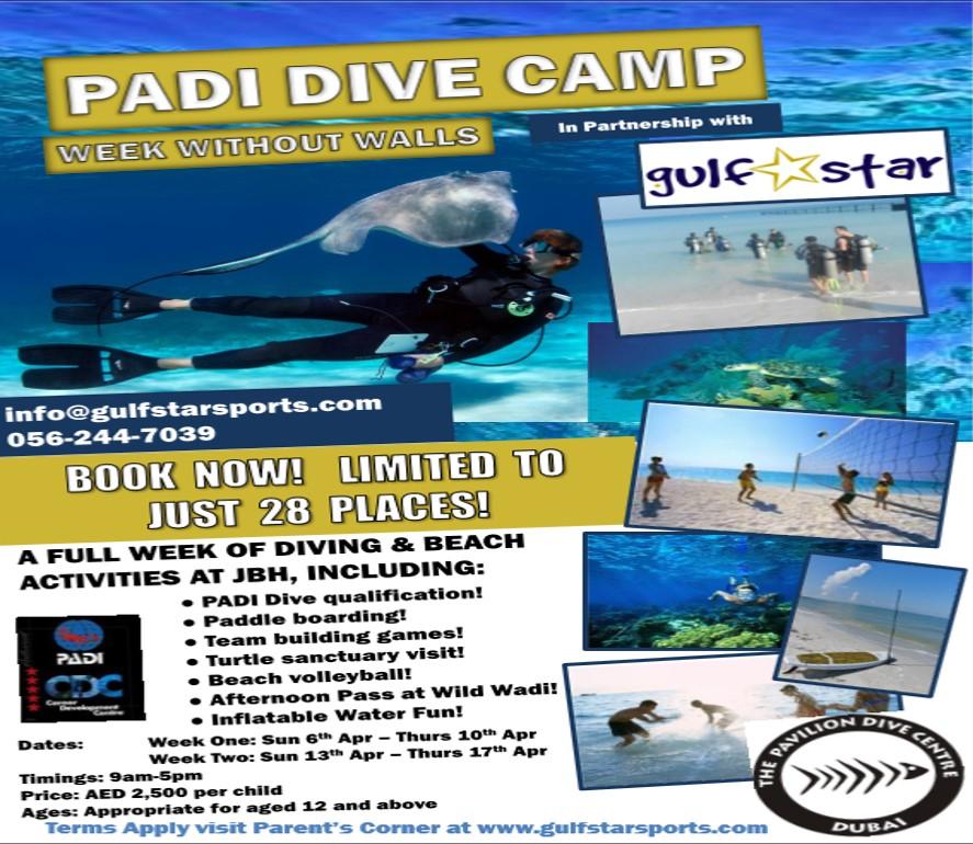 PADI Dive Camp