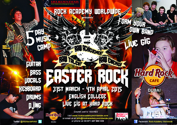 Worldwide Easter Rock Poster A5 2 - image