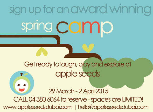 apple-seed-spring-camp flyer