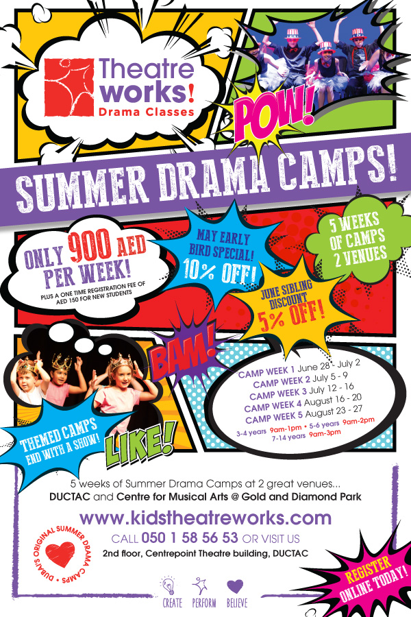 Theatre Works Summer Camp 600x900