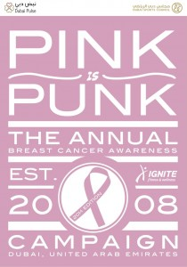 Pink Is Punk Flyer 2014 Front