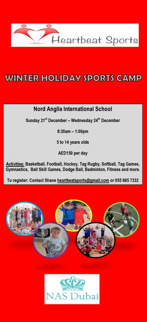 2014 Winter Holiday Camp