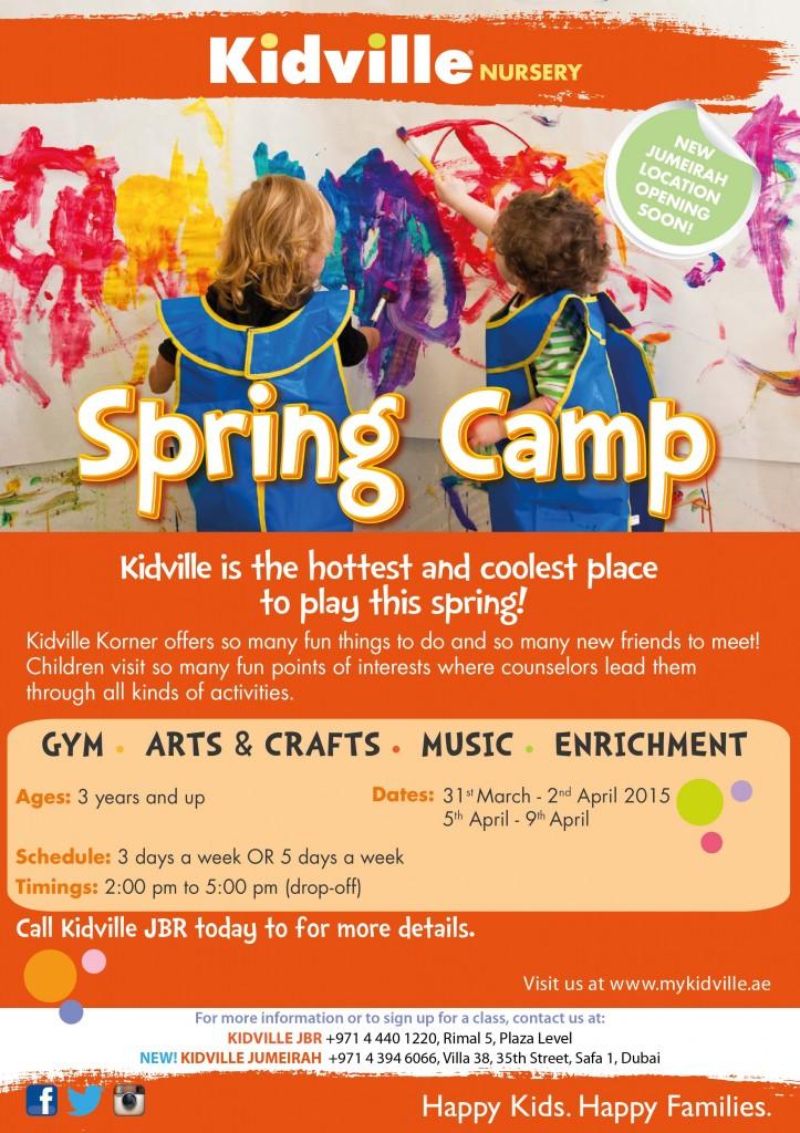 Kidville Springcamp-JBR