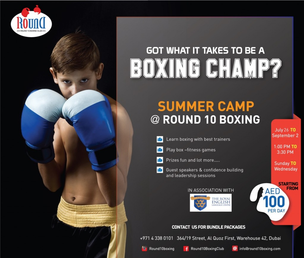 Boxing SUMMER-CAMP