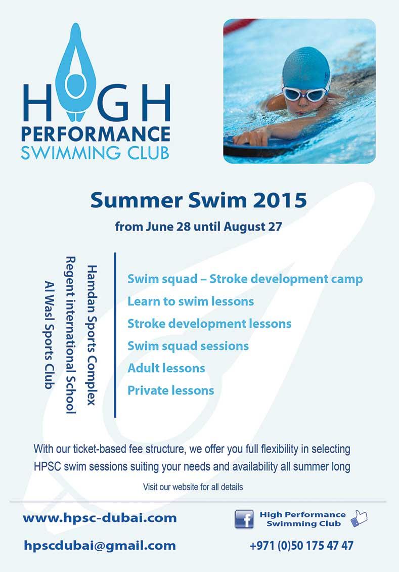HPSC-December 2014 Swim Camp