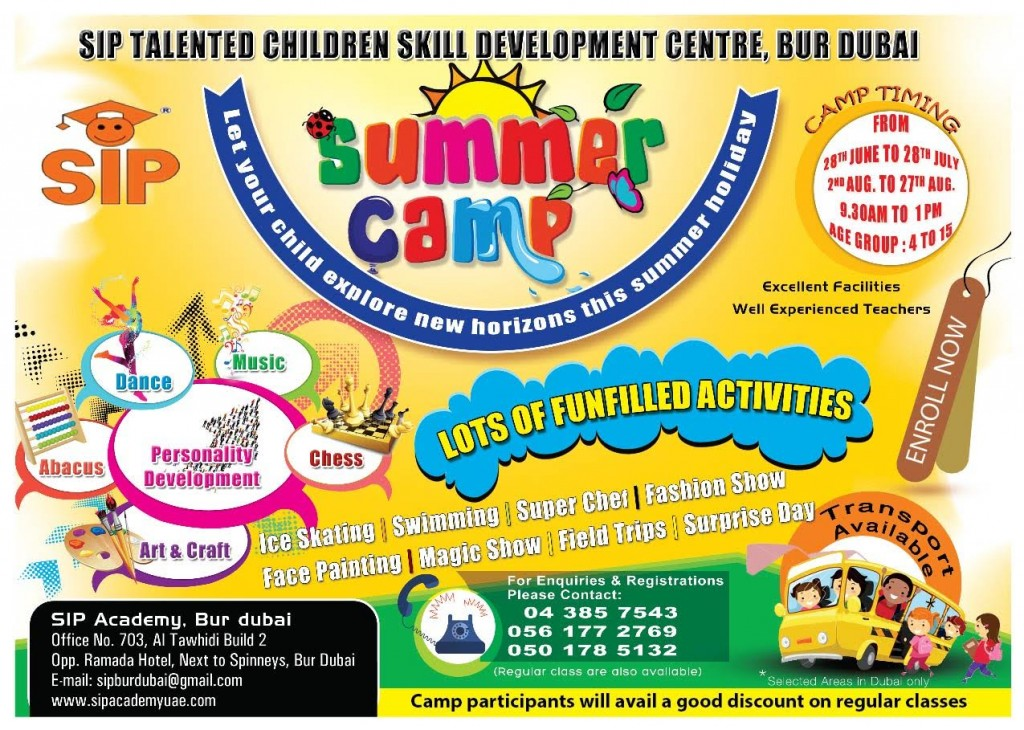 SIP Summer camp