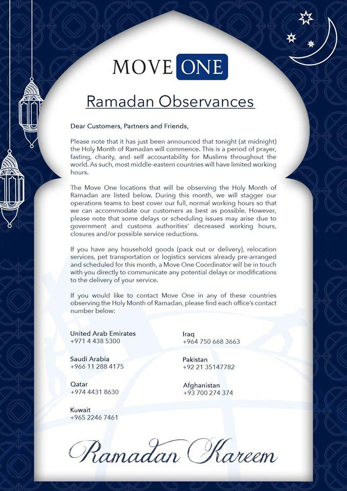 Move One Ramadan