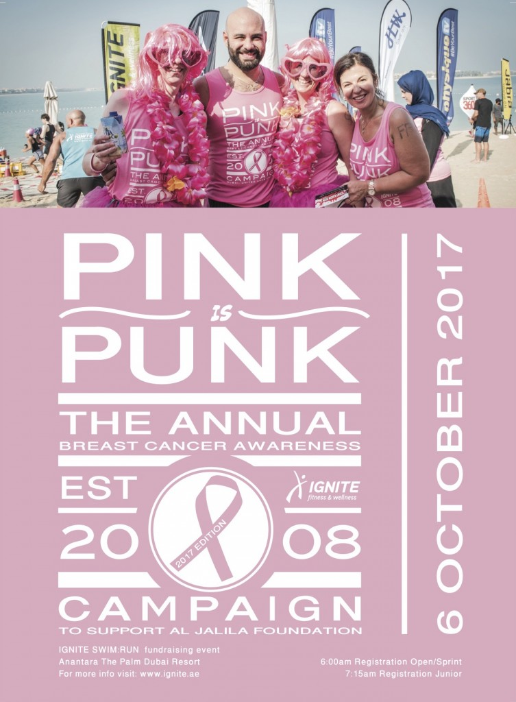 IGNITE Pink Is Punk Flyer 6 October 2017